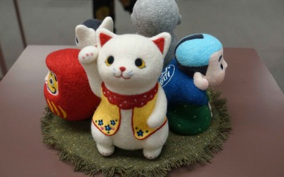 Япония, фестиваль войлока, шибори, сумки Ацуко Сасаки...