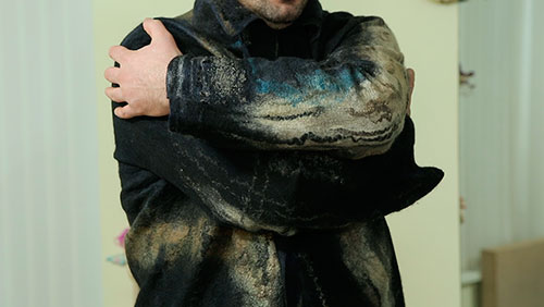 "Наталья Швец. Мужская куртка ""AL MARE NERO"""