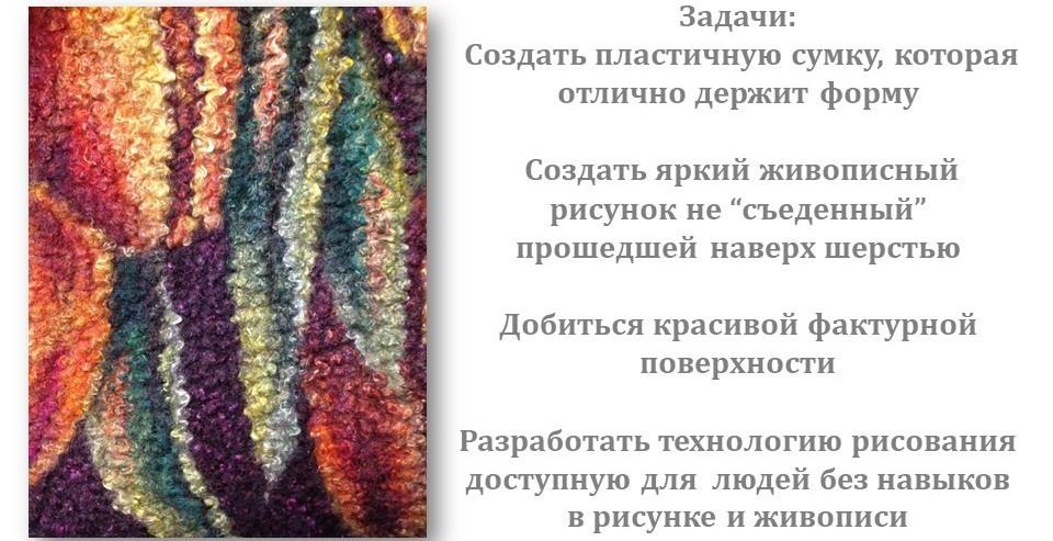 """Светлана Фомина """"Сумка с живописным декором Тюльпаны"""""""