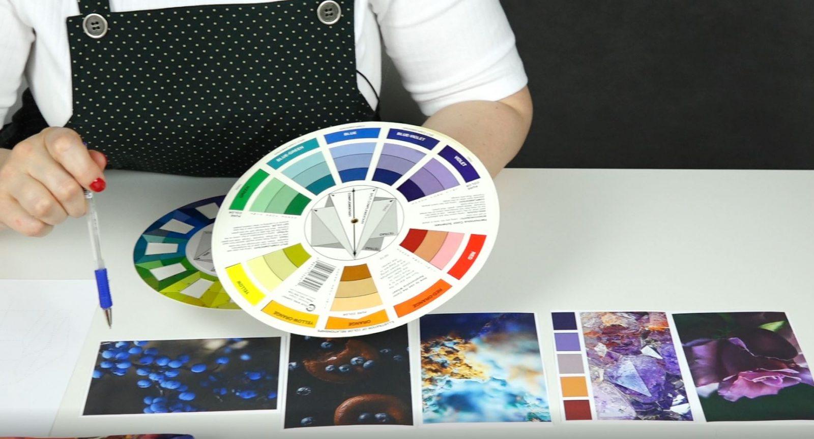 С.Болюх. Как работать с цветовой палитрой в войлоке