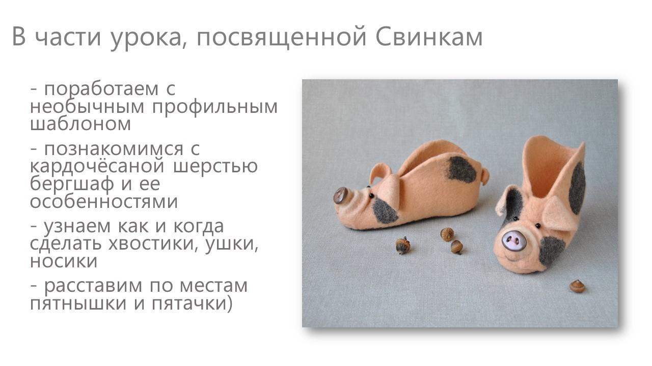 Ольга Демьянова. Эволюция домашнего валеночка