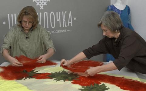 """О.Ткаченко, Н.Кондрашева """"Платье на сложном шаблоне """"Аленький цветочек"""""""