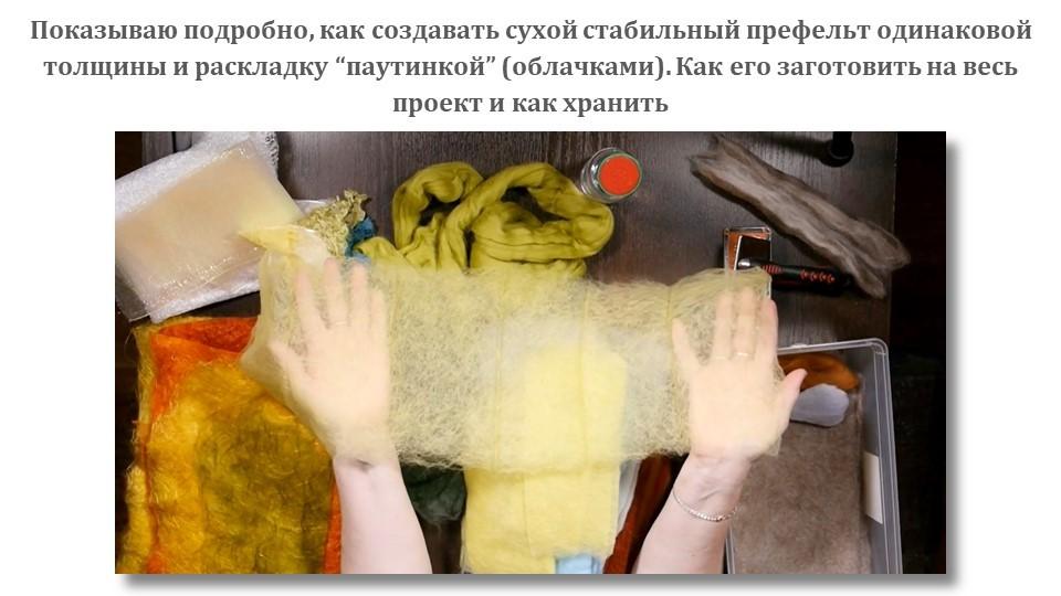 С. Фомина. Климт+. Живопись и орнаменты в декоре войлока